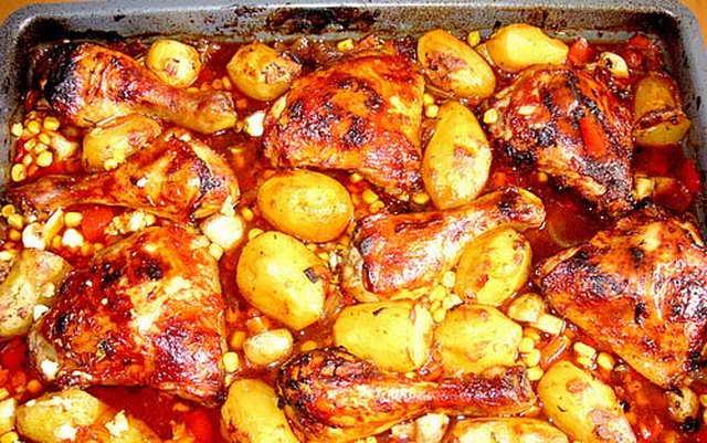 haehnchen-in-barbecuemarinade-mit-kartoffeln