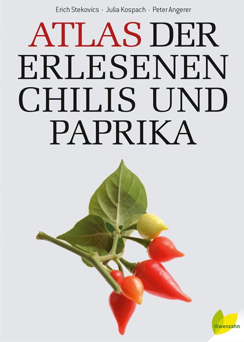 Atlas über Chilis und Paprika.